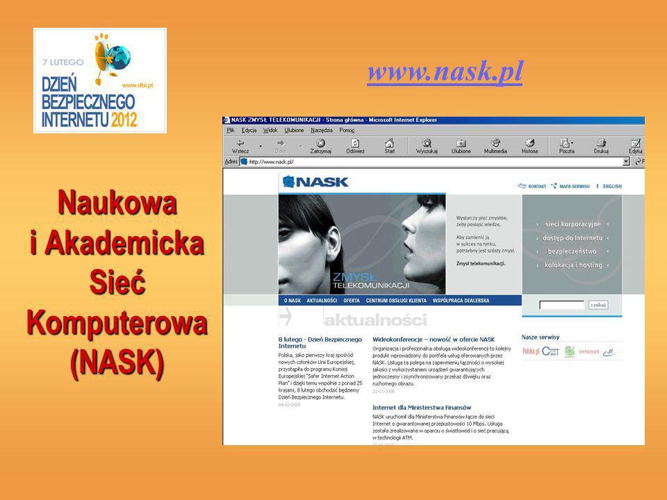 Naukowa i Akademicka Sieć Komputerowa (NASK)