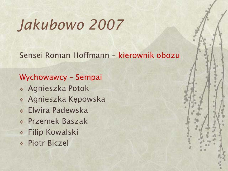Jakubowo 2007 Sensei Roman Hoffmann – kierownik obozu