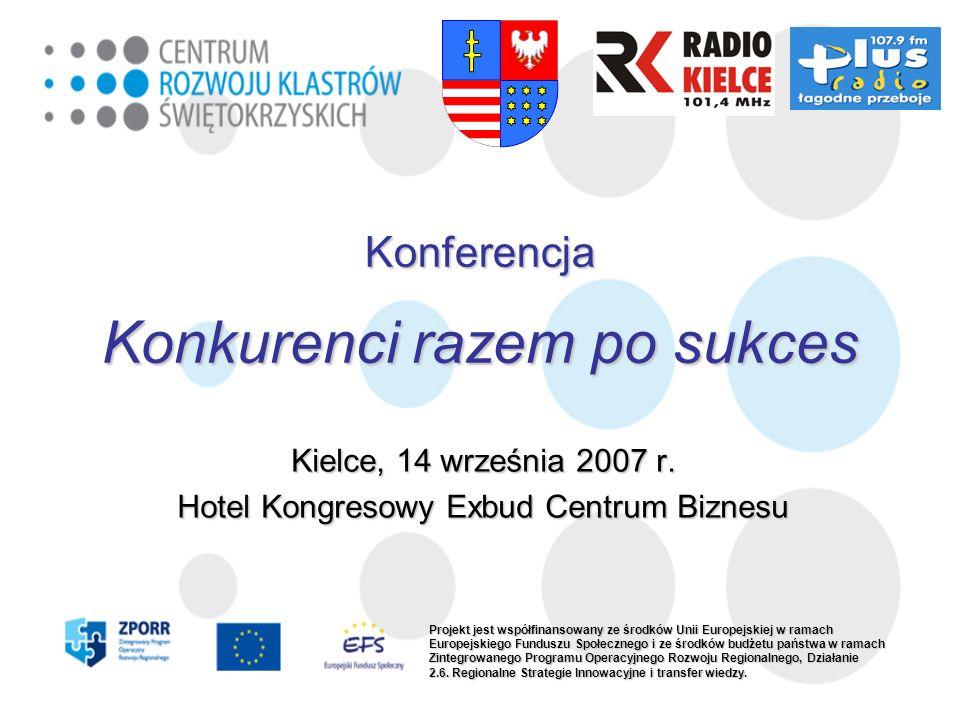 Konferencja Konkurenci razem po sukces