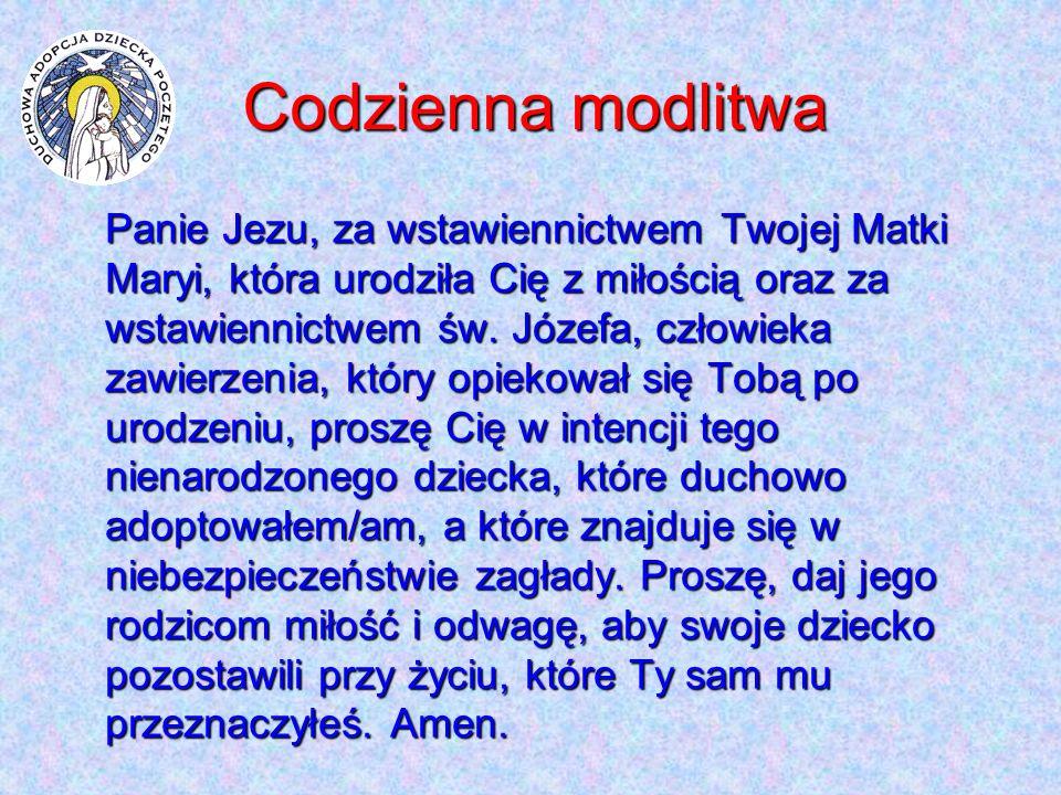 Codzienna modlitwa