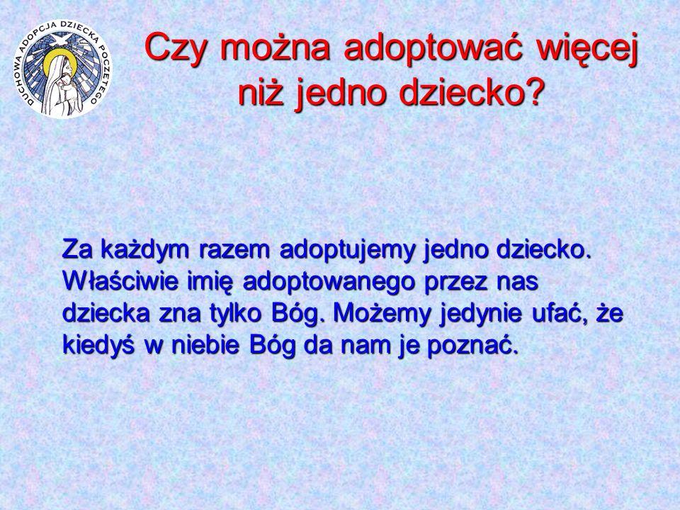 Czy można adoptować więcej niż jedno dziecko