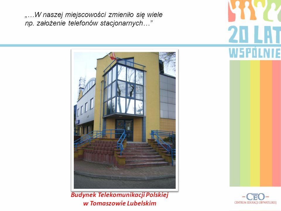 Budynek Telekomunikacji Polskiej w Tomaszowie Lubelskim