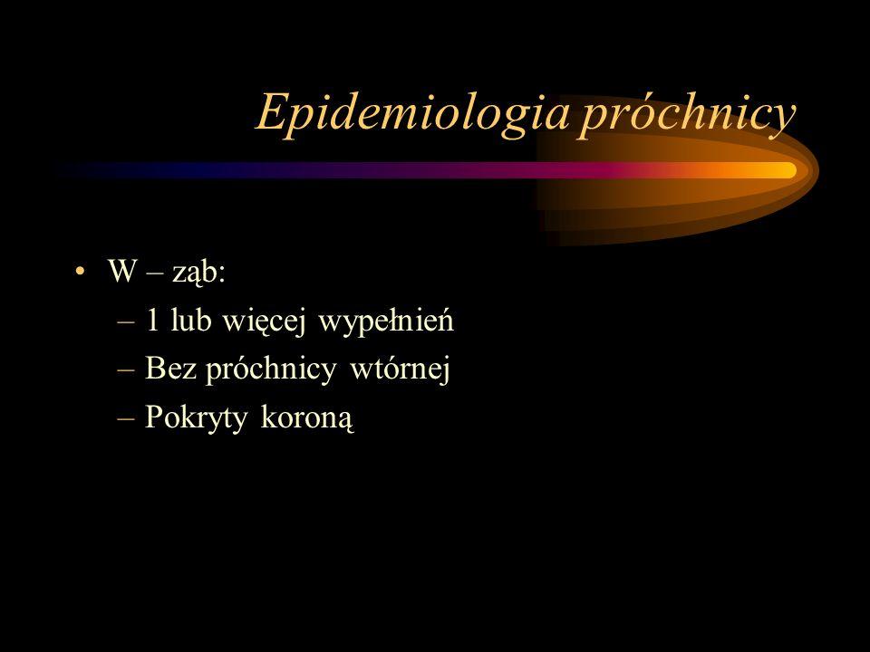 Epidemiologia próchnicy