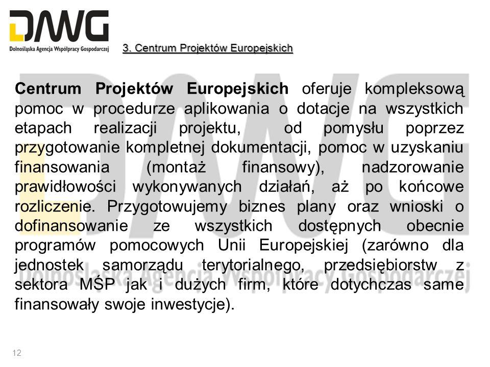3. Centrum Projektów Europejskich