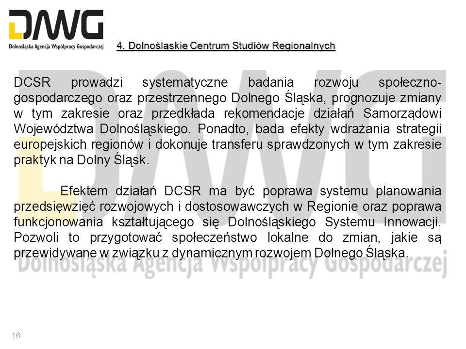 4. Dolnośląskie Centrum Studiów Regionalnych