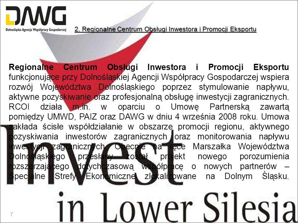 2. Regionalne Centrum Obsługi Inwestora i Promocji Eksportu