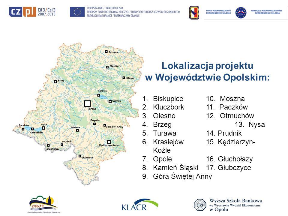 Lokalizacja projektu w Województwie Opolskim: