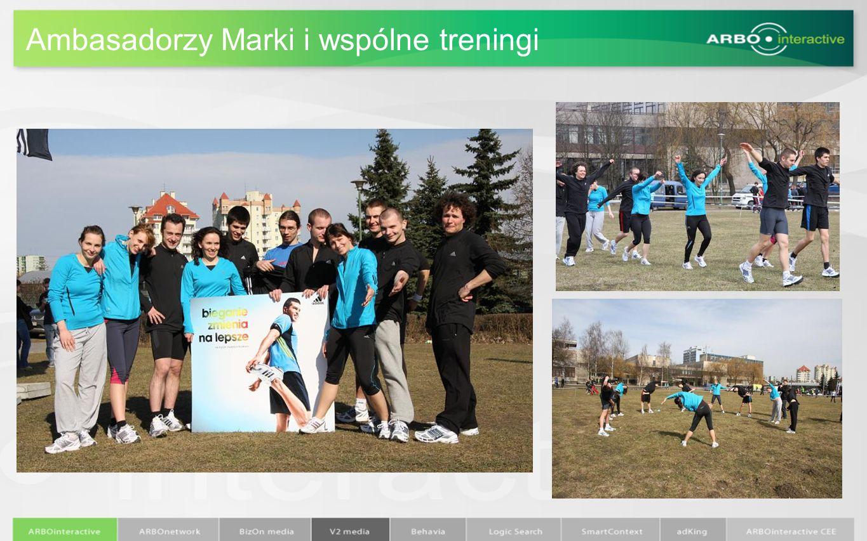Ambasadorzy Marki i wspólne treningi