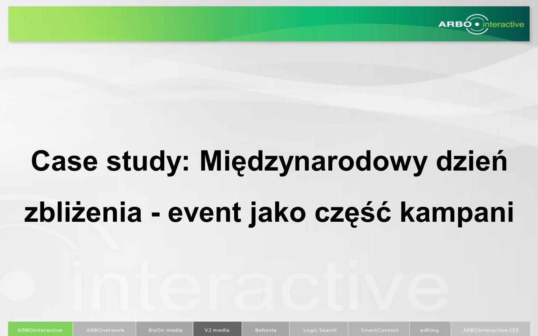 Case study: Międzynarodowy dzień zbliżenia - event jako część kampani
