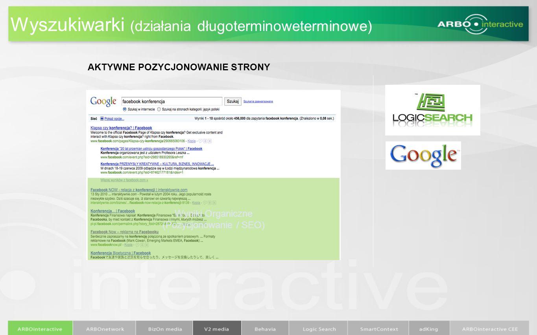 Wyszukiwarki (działania długoterminoweterminowe)