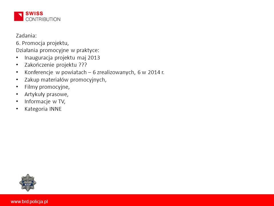Działania promocyjne w praktyce: Inauguracja projektu maj 2013