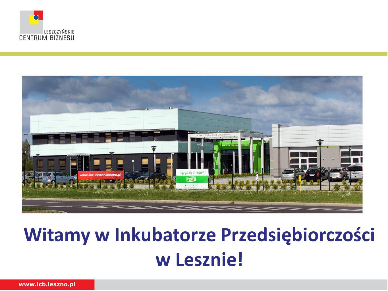 Witamy w Inkubatorze Przedsiębiorczości