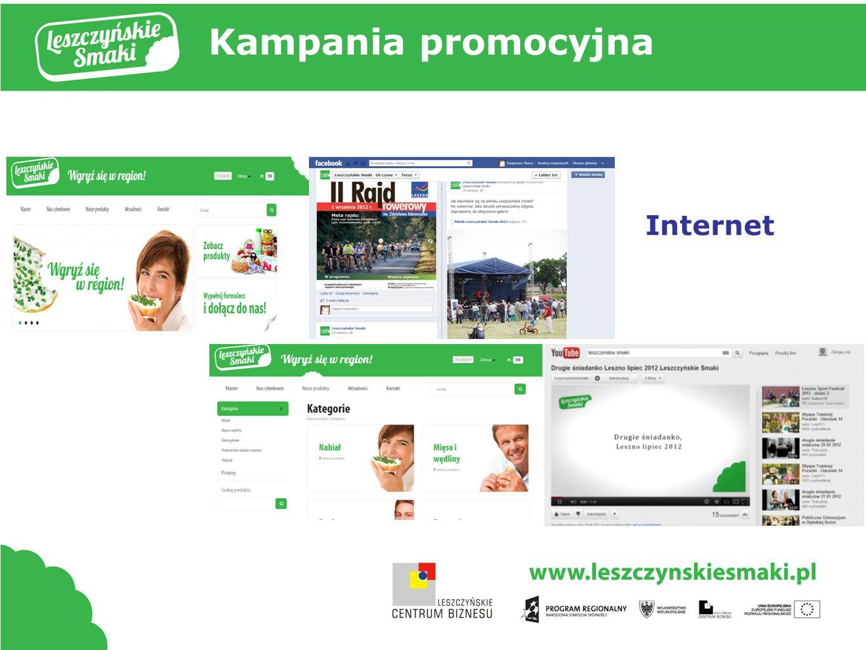 Kampania promocyjna Internet