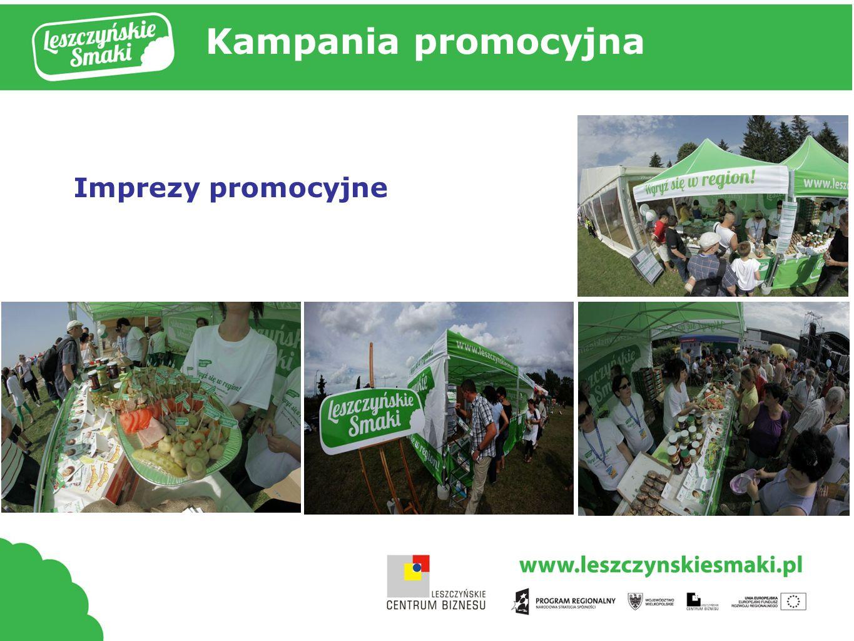 Kampania promocyjna Imprezy promocyjne