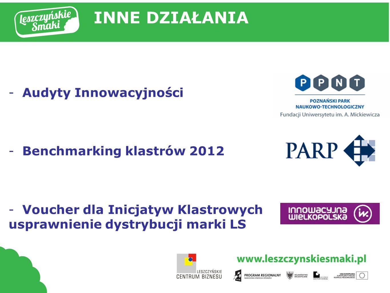 Tytuł prezentacji INNE DZIAŁANIA Audyty Innowacyjności