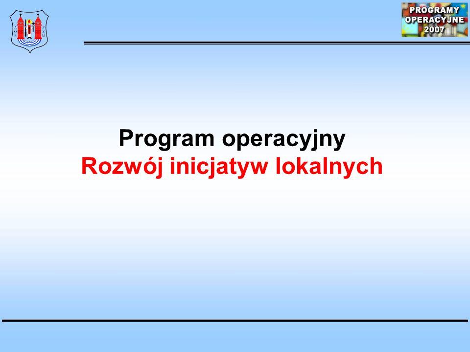 Rozwój inicjatyw lokalnych