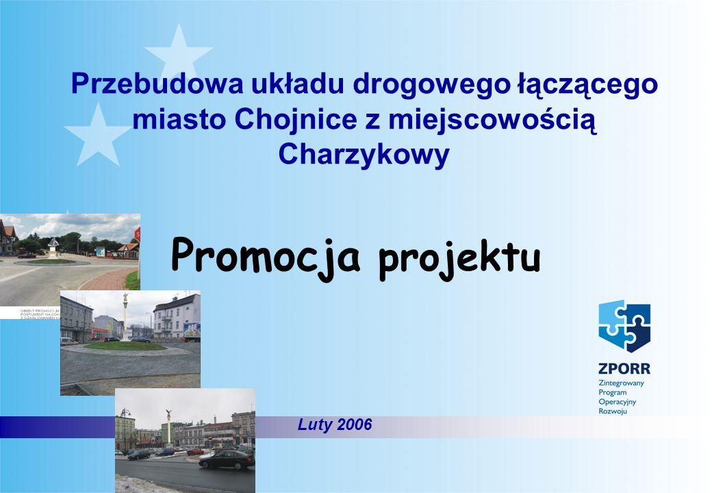 Przebudowa układu drogowego łączącego miasto Chojnice z miejscowością Charzykowy