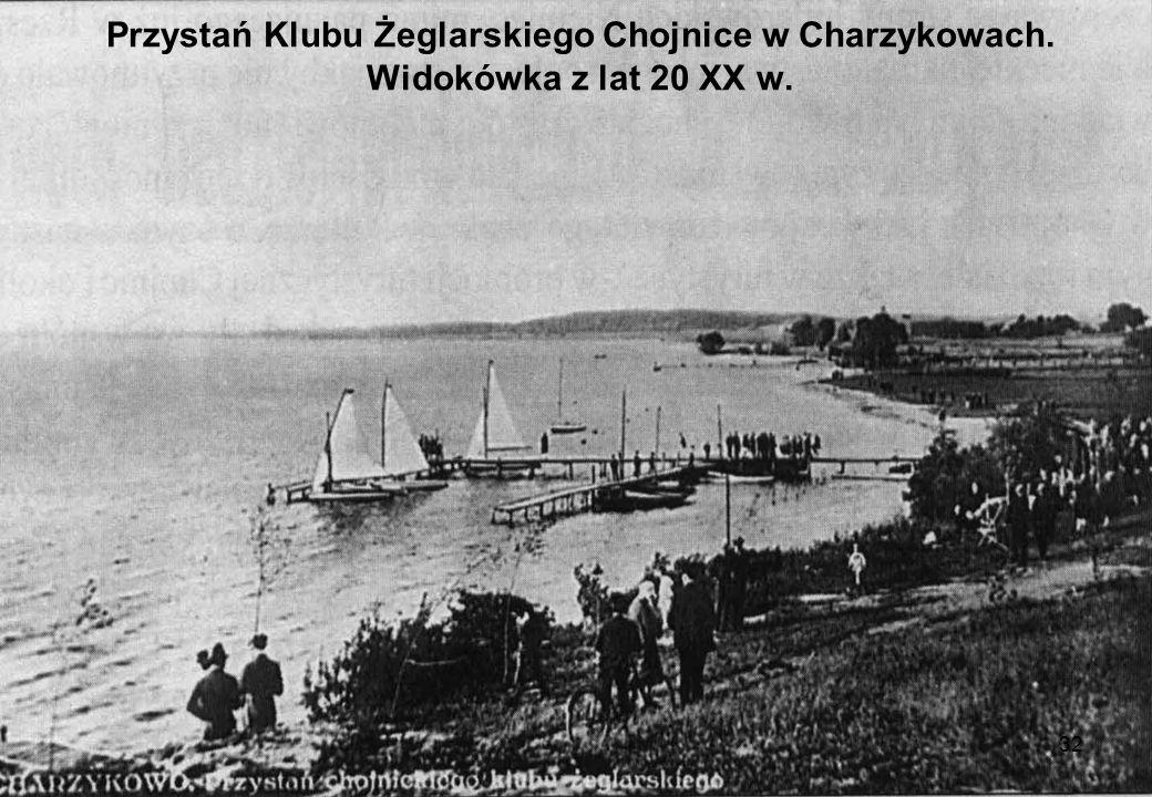 Przystań Klubu Żeglarskiego Chojnice w Charzykowach