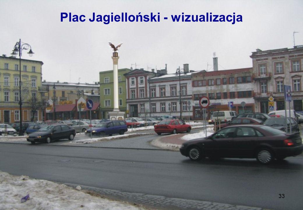 Plac Jagielloński - wizualizacja