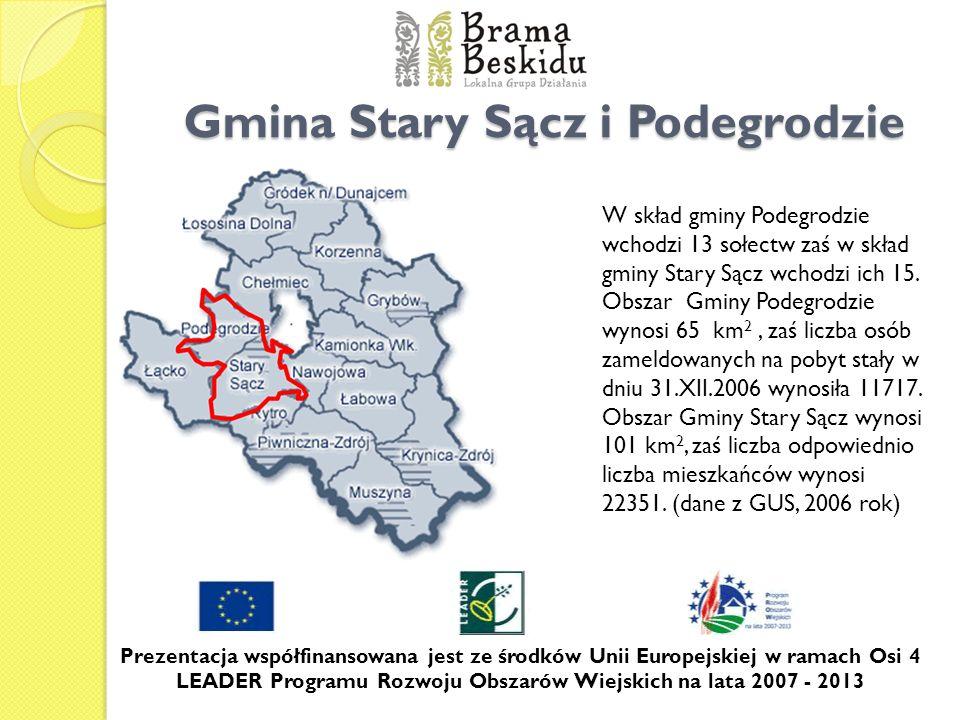 Gmina Stary Sącz i Podegrodzie
