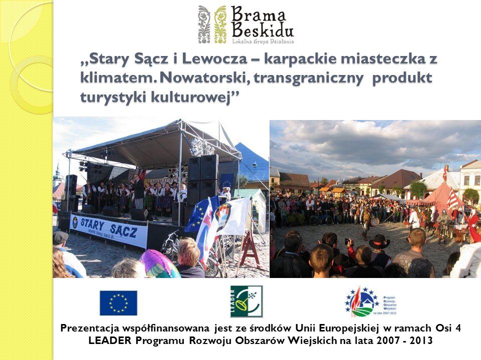 """""""Stary Sącz i Lewocza – karpackie miasteczka z klimatem"""