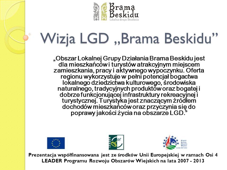 "Wizja LGD ""Brama Beskidu"