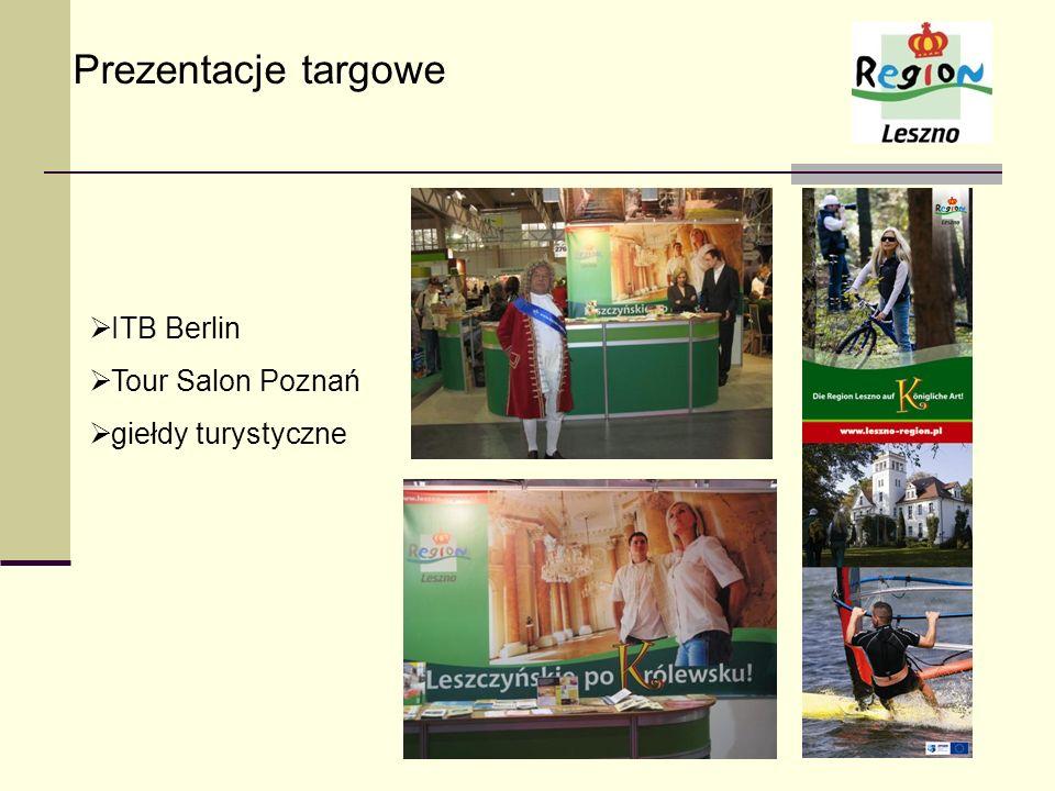 Prezentacje targowe ITB Berlin Tour Salon Poznań giełdy turystyczne