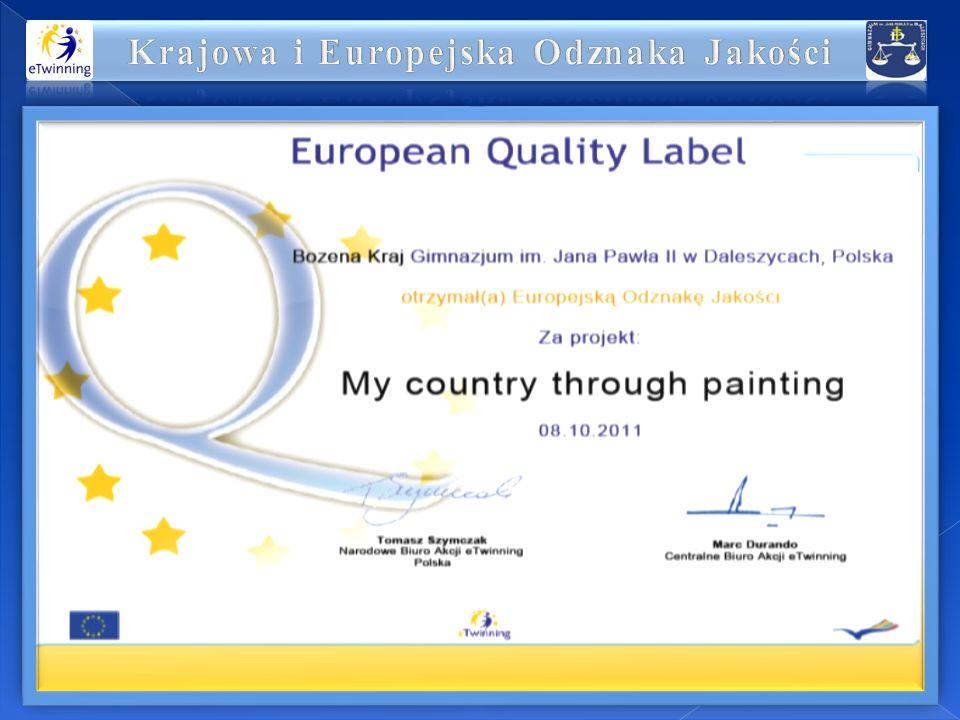 Krajowa i Europejska Odznaka Jakości
