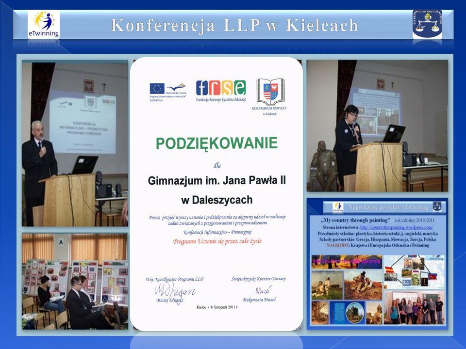 Konferencja LLP w Kielcach
