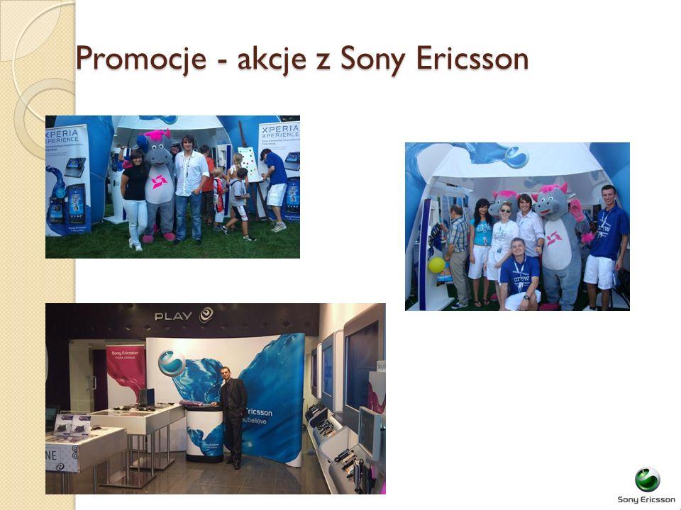 Promocje - akcje z Sony Ericsson