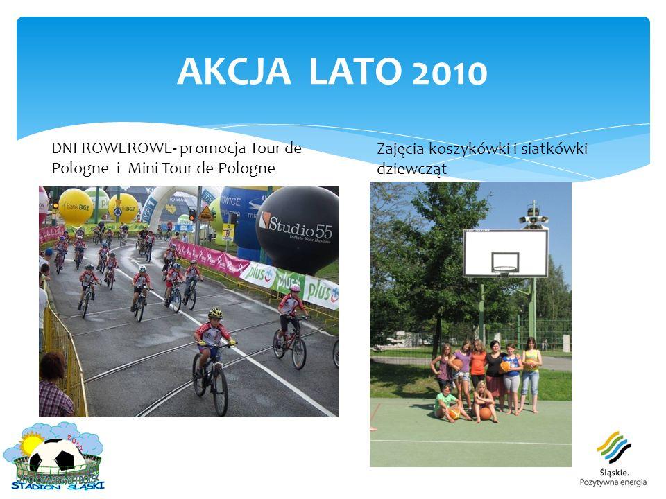 AKCJA LATO 2010 DNI ROWEROWE- promocja Tour de Pologne i Mini Tour de Pologne.