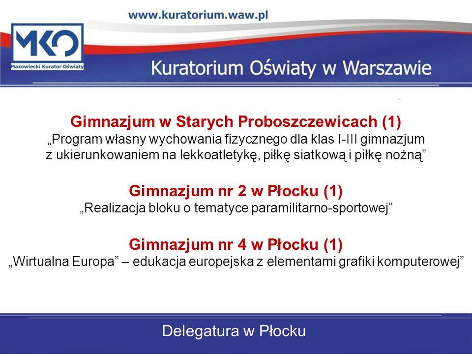 Gimnazjum w Starych Proboszczewicach (1)