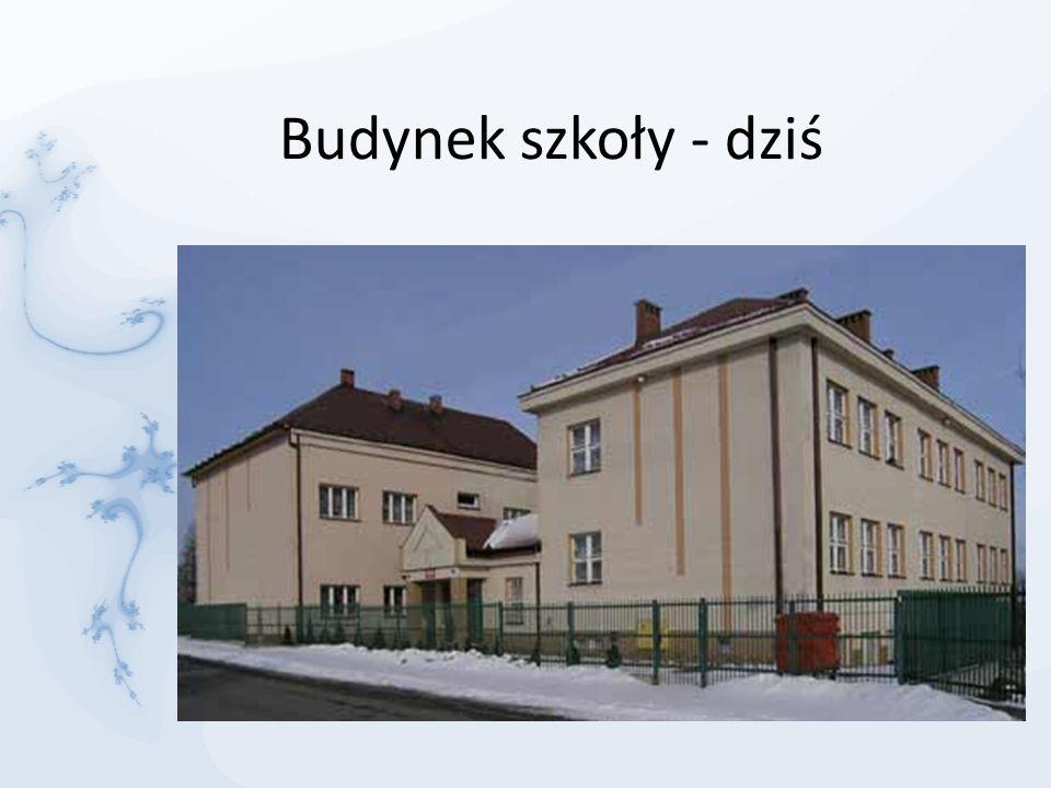 Budynek szkoły - dziś