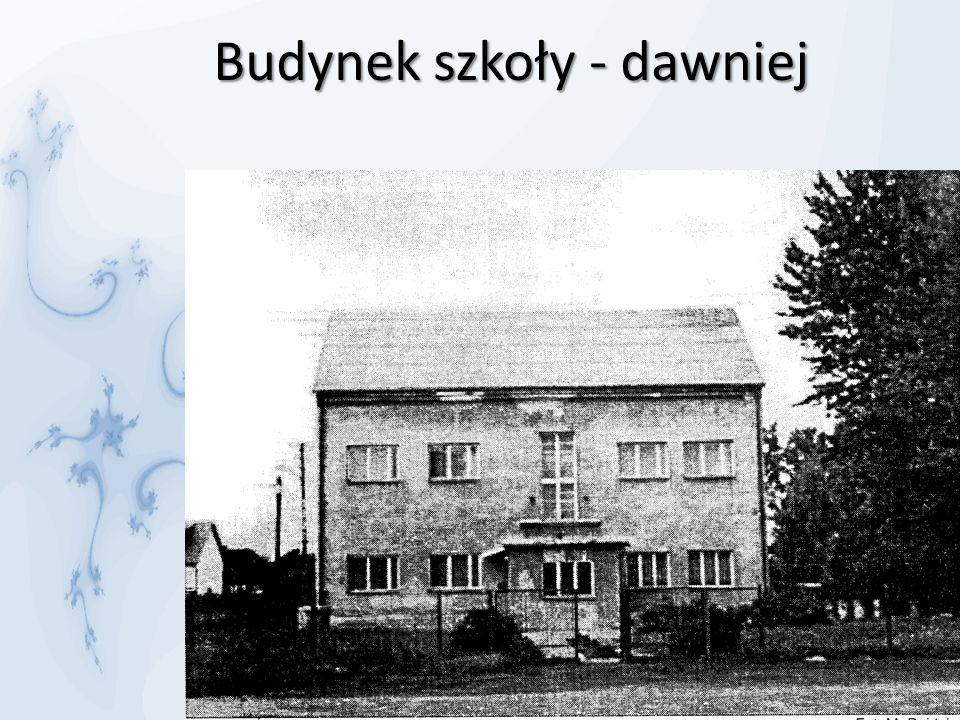 Budynek szkoły - dawniej