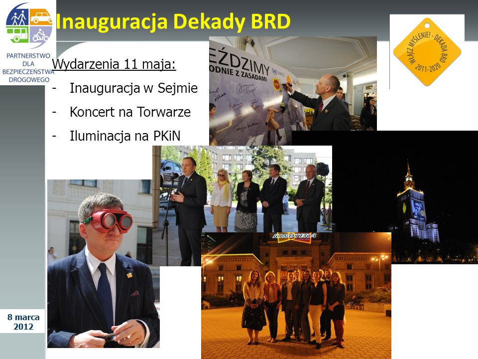 Inauguracja Dekady BRD