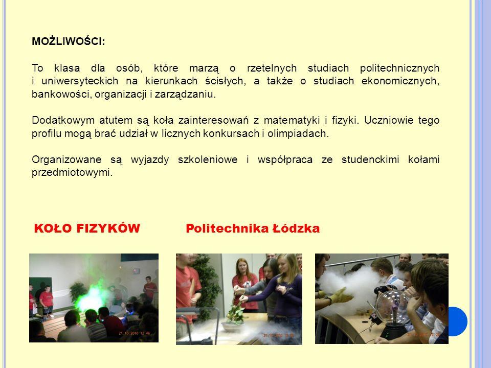 KOŁO FIZYKÓW Politechnika Łódzka
