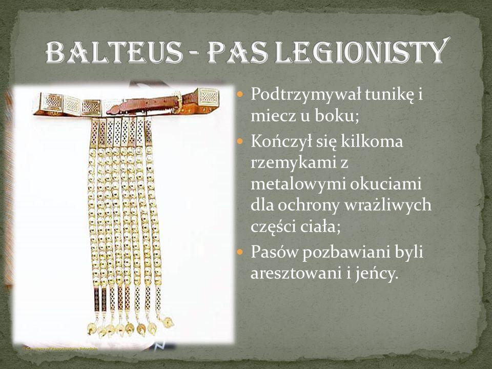 Balteus - pas legionisty