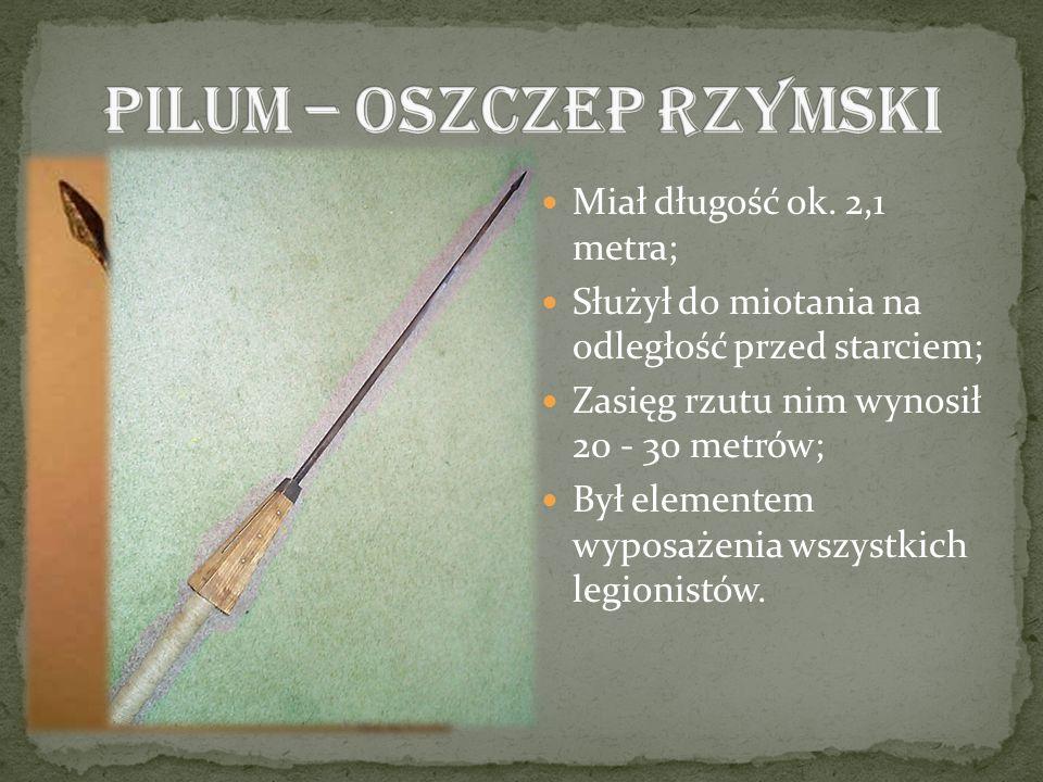 Pilum – oszczep rzymski