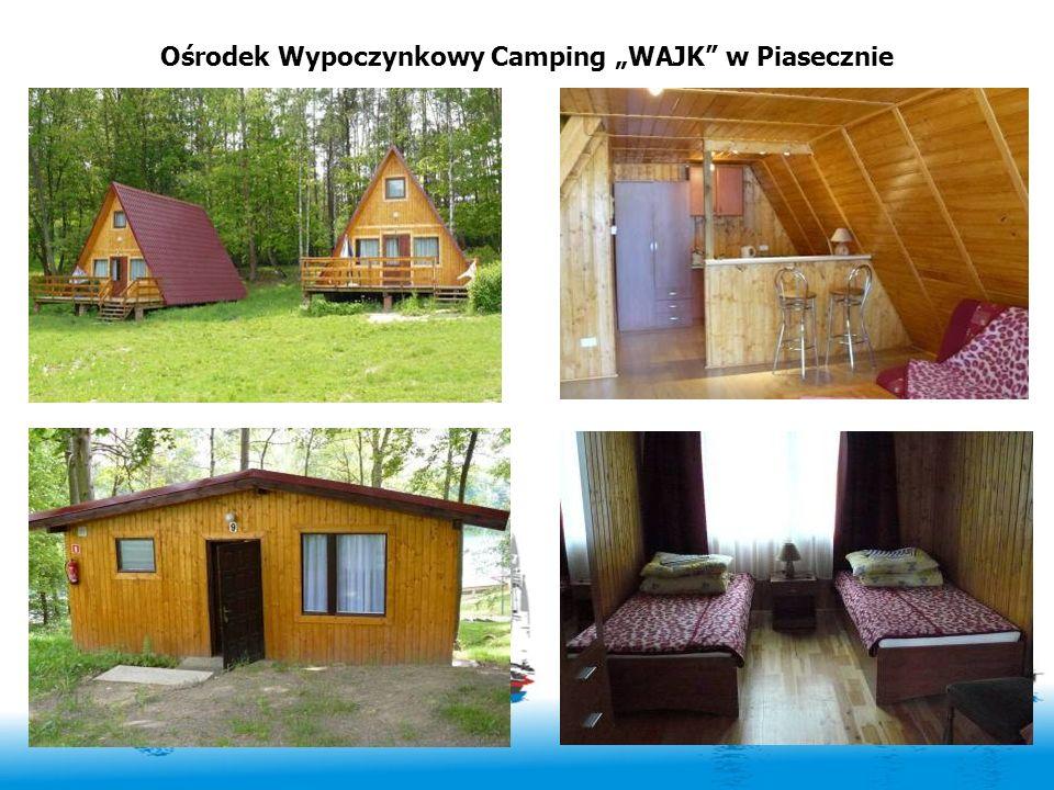 """Ośrodek Wypoczynkowy Camping """"WAJK w Piasecznie"""