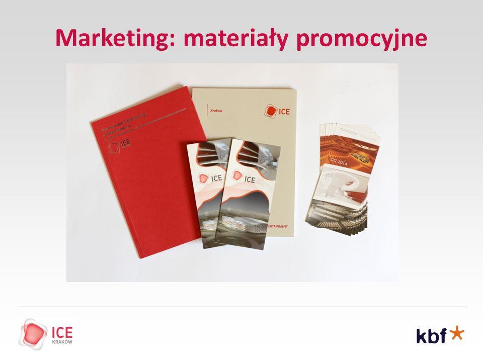 Marketing: materiały promocyjne