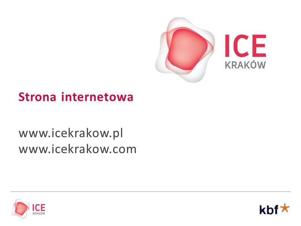 Strona internetowa www.icekrakow.pl www.icekrakow.com