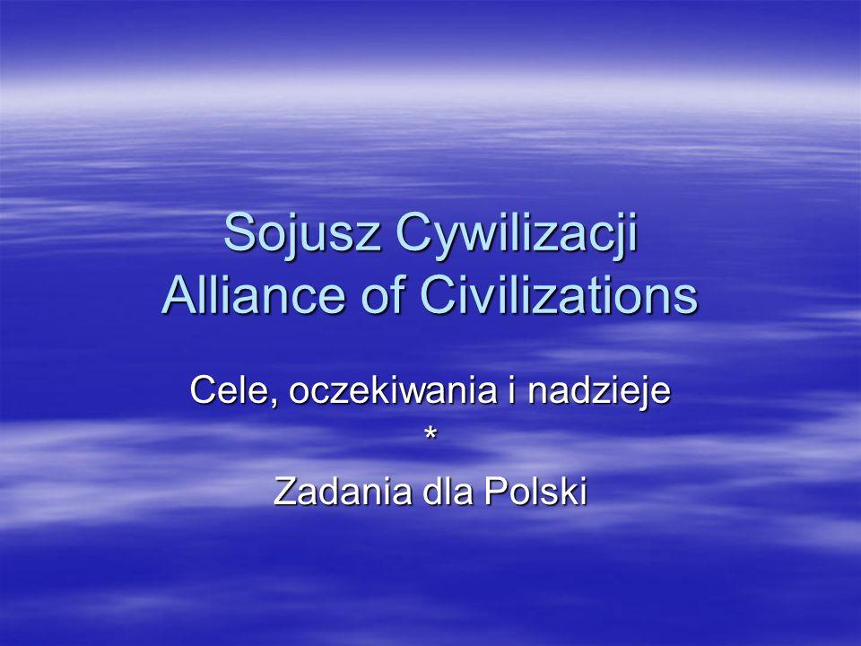 Sojusz Cywilizacji Alliance of Civilizations