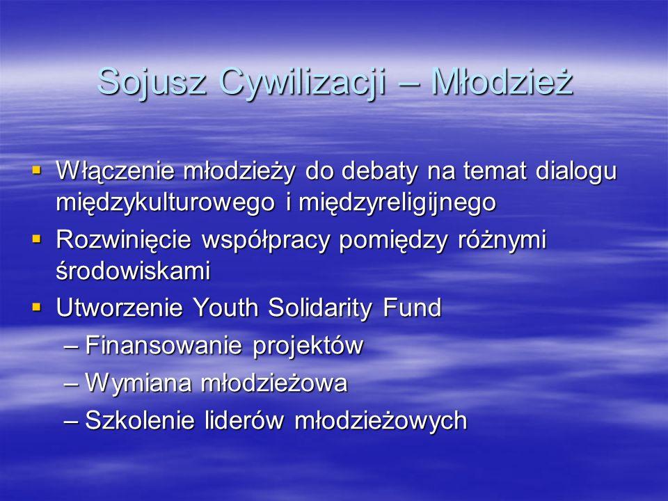 Sojusz Cywilizacji – Młodzież