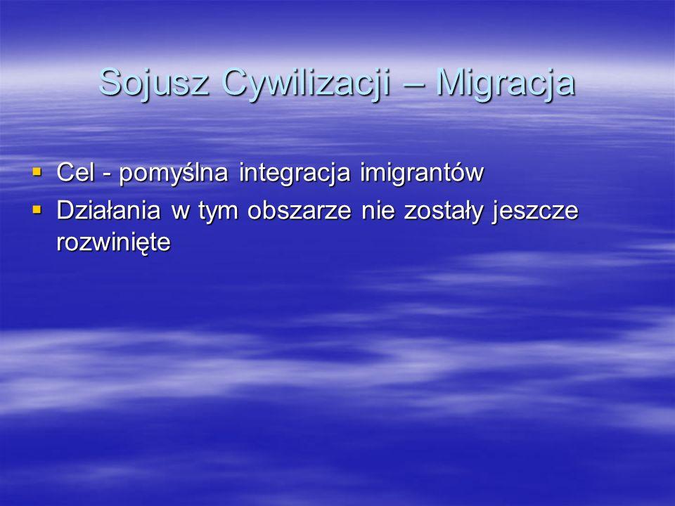Sojusz Cywilizacji – Migracja