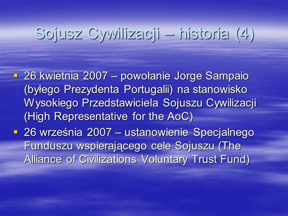 Sojusz Cywilizacji – historia (4)