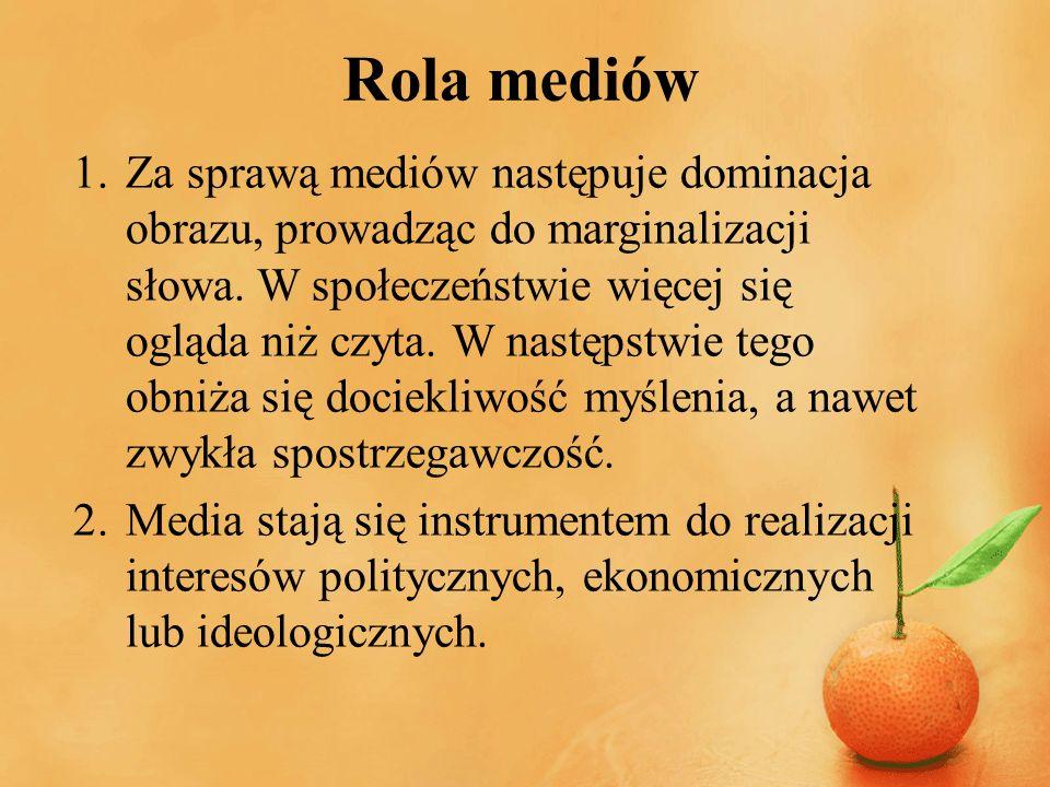 Rola mediów
