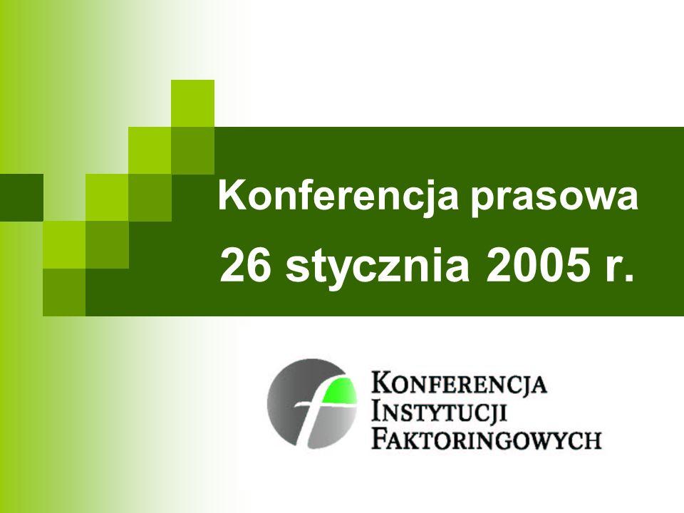 Konferencja prasowa 26 stycznia 2005 r.