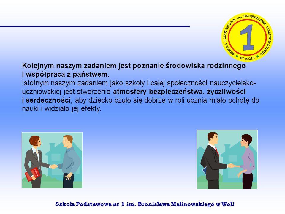 Szkoła Podstawowa nr 1 im. Bronisława Malinowskiego w Woli