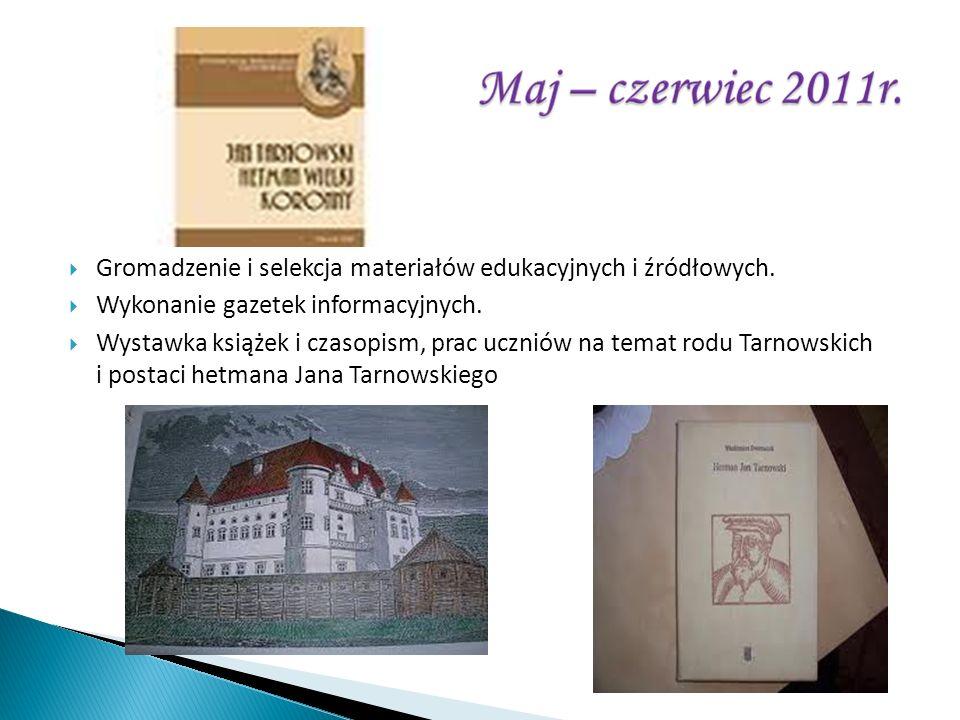 Gromadzenie i selekcja materiałów edukacyjnych i źródłowych.