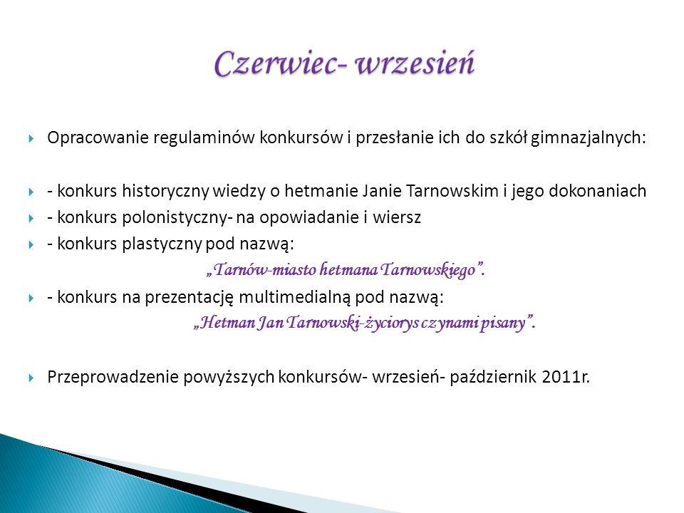 - konkurs polonistyczny- na opowiadanie i wiersz